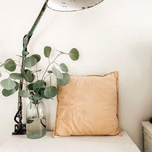 Other - Small velvet toss pillow